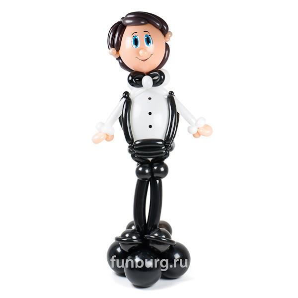 Фигура из шаров «Отличник»Выпускной<br>Высота: 110 см<br> Производство: Funburg.ru<br>
