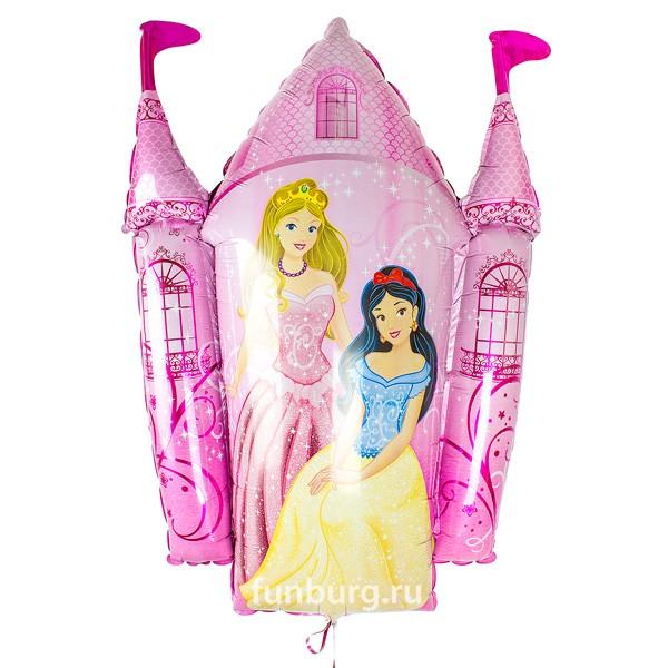 Шар из фольги «Замок принцессы»Из фольги с рисунком<br>Размер: 84 см Производитель: Flexmetal, Испания<br>