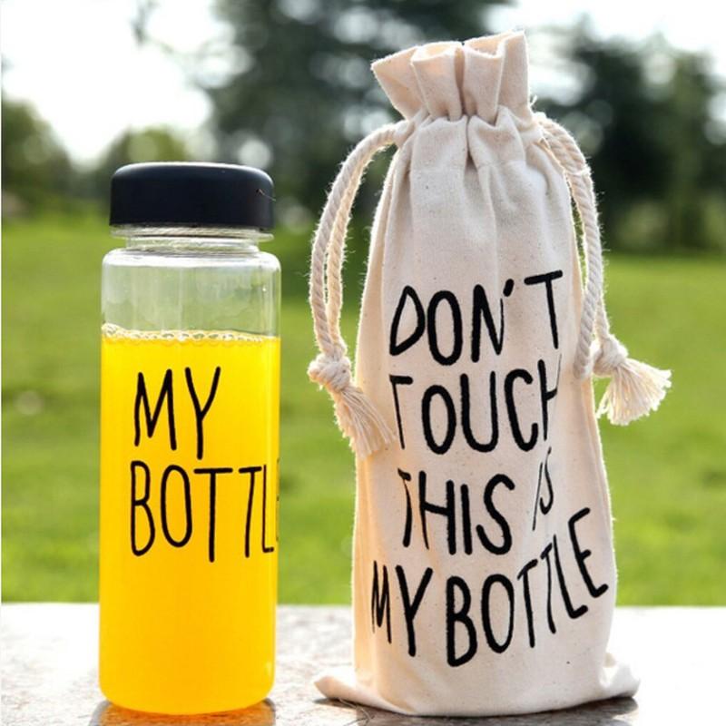 Бутылочка «My bottle»Товары для кухни<br> <br>Размеры:<br><br><br>диаметр 6,5 см, высота 19,5 см<br><br> <br>Объем:<br><br><br>500 мл<br><br> <br>Комплект:<br><br><br>бутылочка My Bottle и льняной мешочек с надписью Dont touch this is my bottle<br><br> <br>Цвет:<br><br><br>Цвет уточняйте у оператора при оформлении заказа.<br><br>