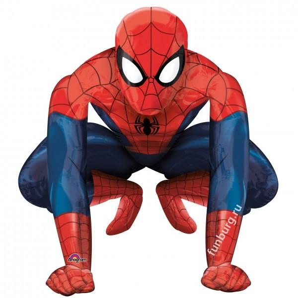 Ходящий шар «Человек-паук»Ходящие шары<br>Размер: 91?91 см Производитель: Anagram, США<br>