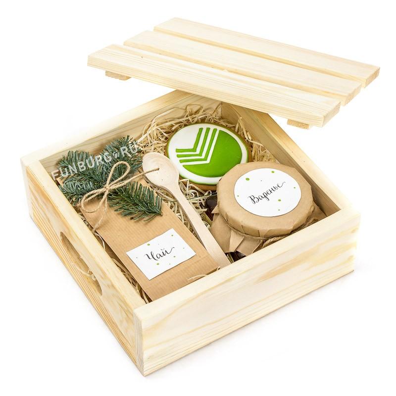 Подарочные наборы мед и чай