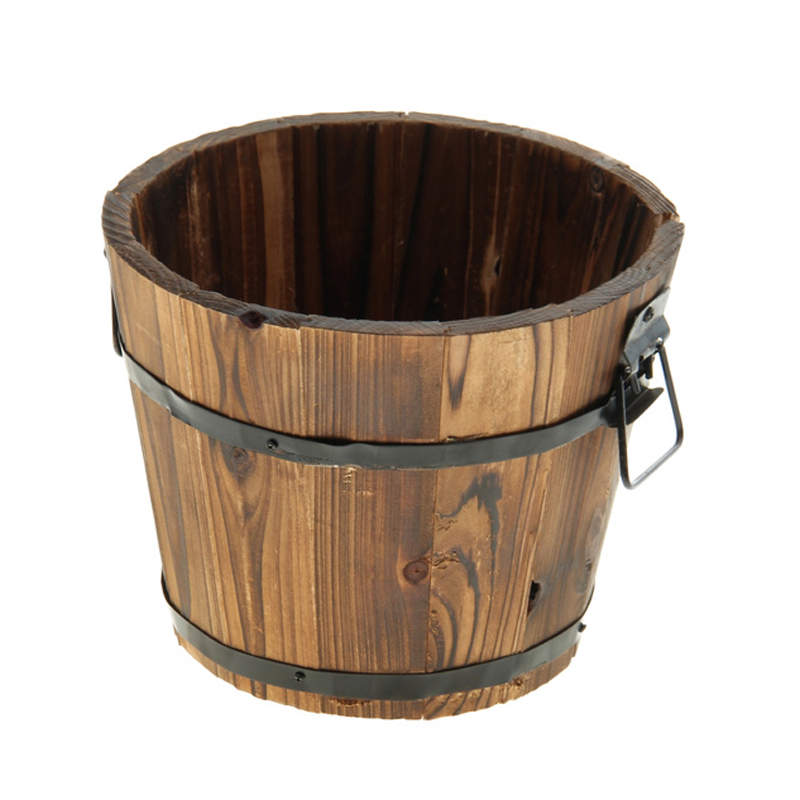 Деревянное кашпо «Кадка»Упаковка подарков<br> <br>Размер:<br><br><br>18?18?15 см<br><br><br> <br>Материал:<br><br><br>дерево<br><br>