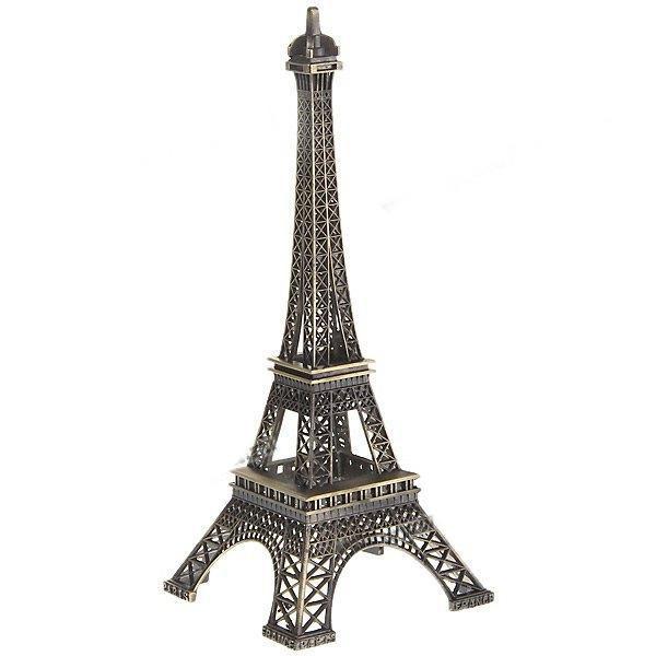 Металлическая фигурка «Эйфелева башня»Интерьер<br>Размер:  25?10?10 см Вес:  220 гМатериал:  металл<br>