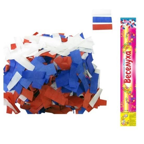 Пневмохлопушка (60 см) «Россия»Пневмохлопушки<br>Размер: 60 см<br> Дальность выстрела 6-8 м<br>