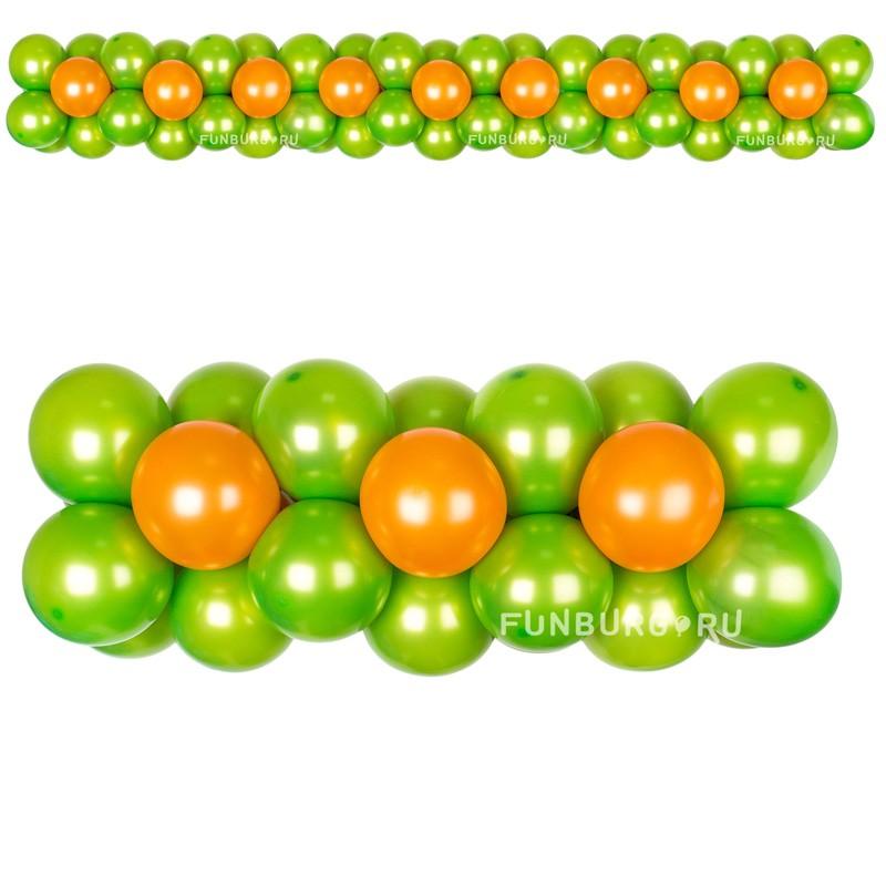 Элемент оформления «Гирлянда 4»Гирлянды<br>Цена указана за метр гирлянды.<br>