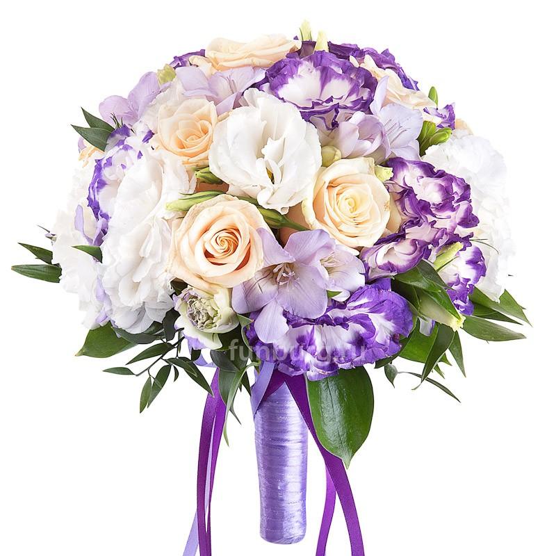 Букет невесты «Голубка»Букеты невесты<br> <br>Диаметр:<br><br><br> 20-23 см<br><br>
