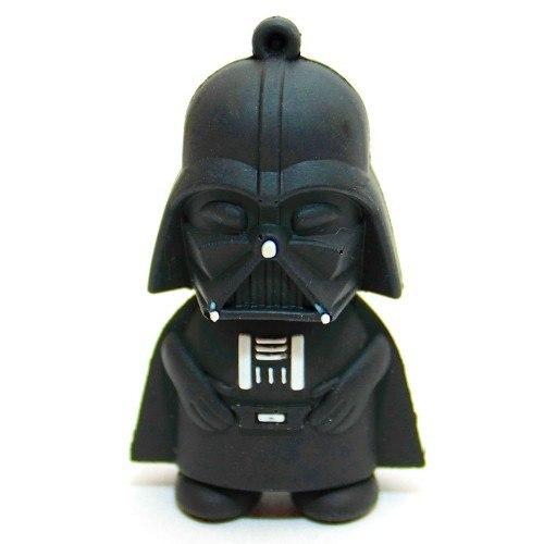 USB-flash 8Gb «Дарт Вейдер»Креативные флешки<br>Размер: 4,8?3?2 см <br>Материал: пластик, резина, металл <br>Объем: 8 Гб<br>