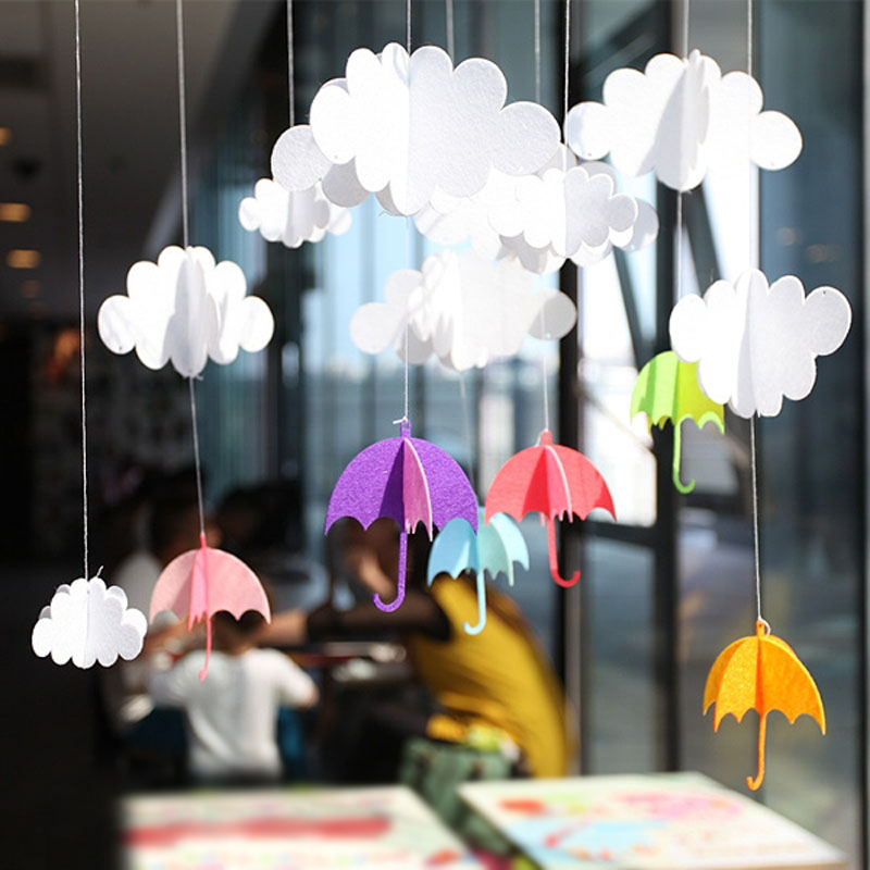 Как сделать большой зонтик из бумаги своими руками 47