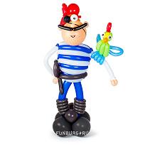 Фигура из шаров «Пират»